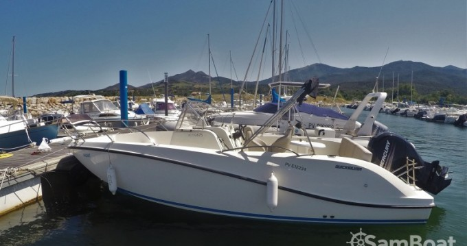 Rental yacht Argelès-sur-Mer - Quicksilver Activ 675 Open on SamBoat
