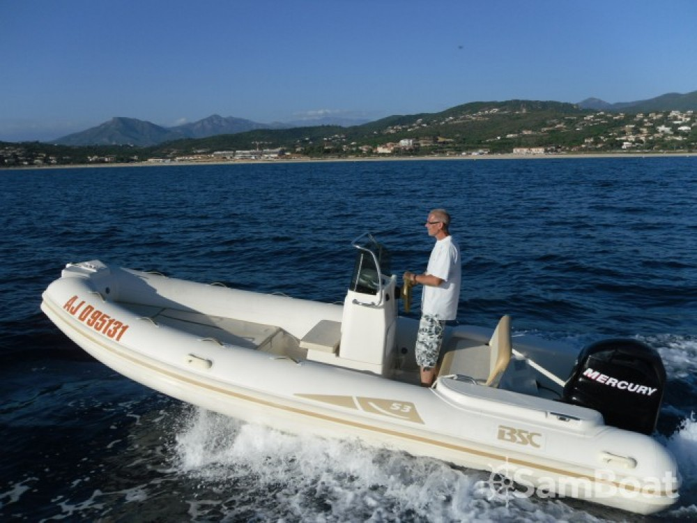 Hire RIB with or without skipper Bsc Ajaccio