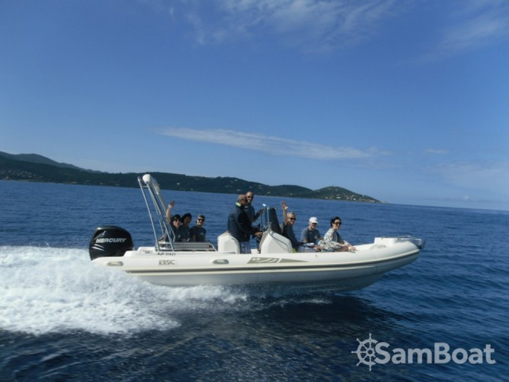 Rental RIB Bsc with a permit