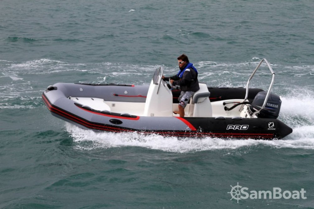 Zodiac PRO RACING 5. between personal and professional L'Île-d'Yeu