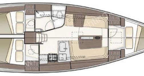 Rental Sailboat in Port du Crouesty - Dehler 38