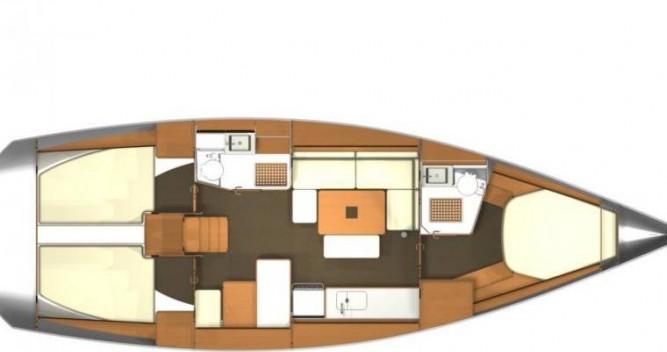 Rental yacht Port du Crouesty - Dufour Dufour 405 Q on SamBoat
