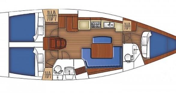 Rental Sailboat VanDutch with a permit