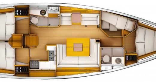 Rental Sailboat in Port du Crouesty - Jeanneau Sun Odyssey 449 Q