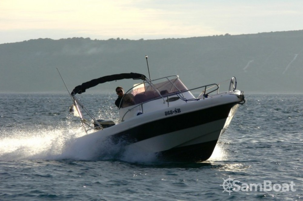Hire Motorboat with or without skipper Seabird-655 Kaštel Gomilica
