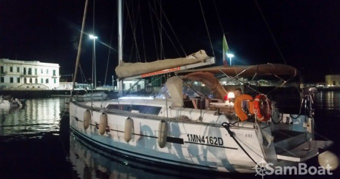 Boat rental Sicily cheap Dufour 410 Grand Large