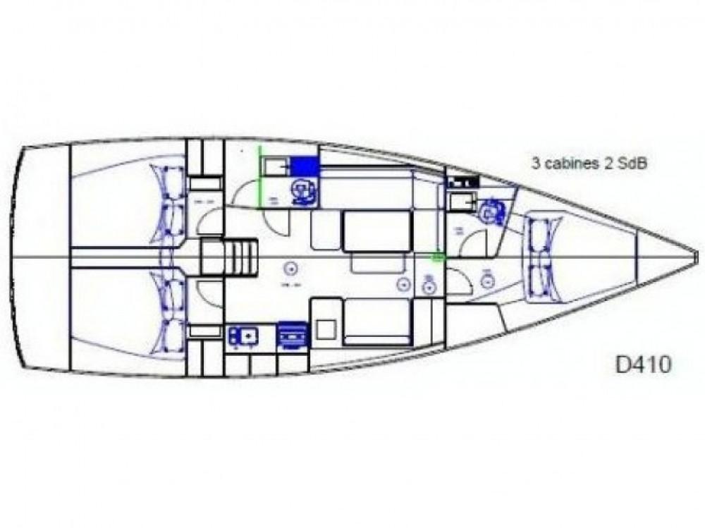 Rental Sailboat in Sicily - Dufour Dufour 410 Grand Large