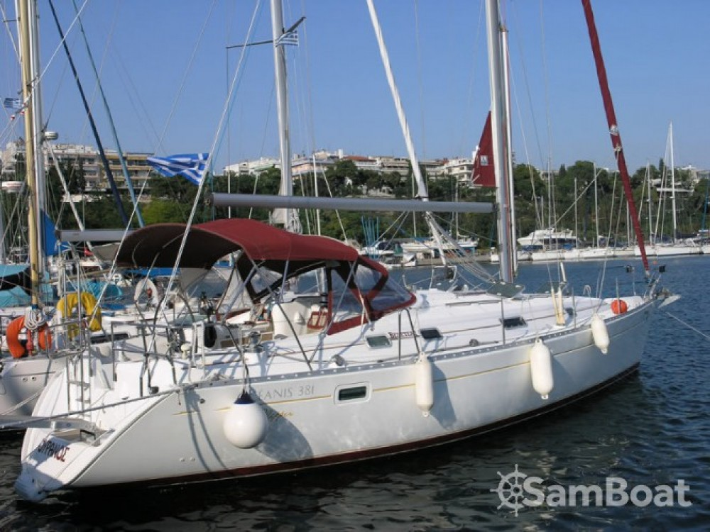 Boat rental Kalafationes cheap Oceanis 381