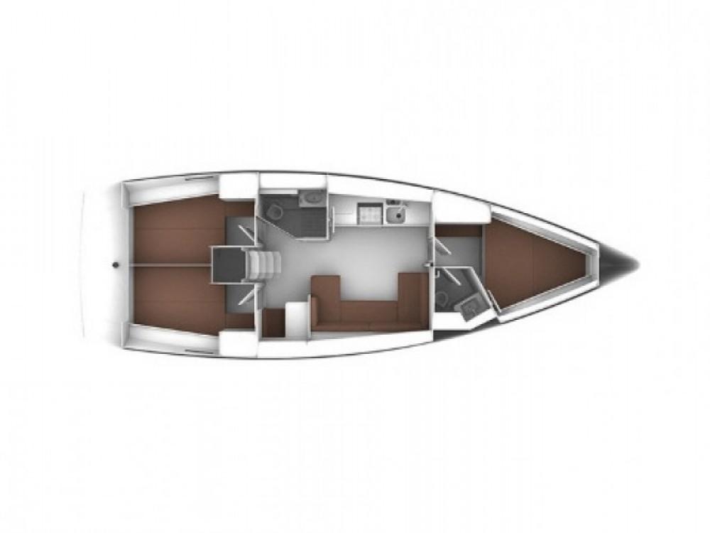 Boat rental Bavaria Bavaria 41 in Kalafationes on Samboat