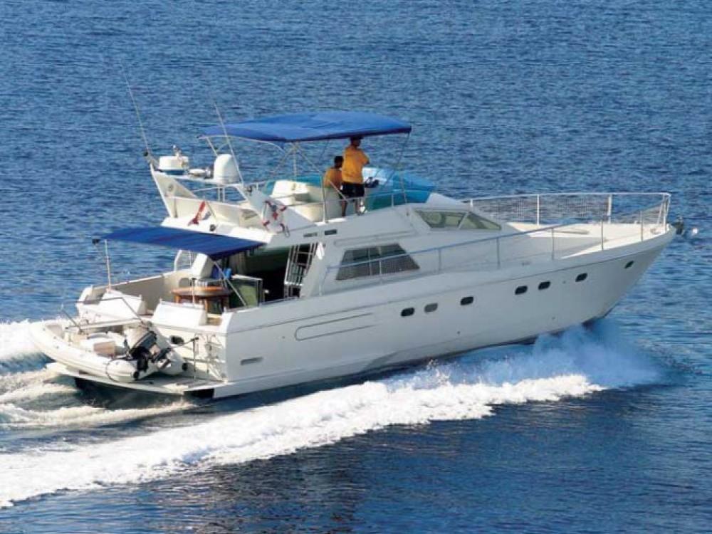 Rental Motorboat in Primošten - Ferretti-49