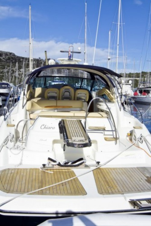 Rental Motorboat Cranchi-43-Sport-Top with a permit