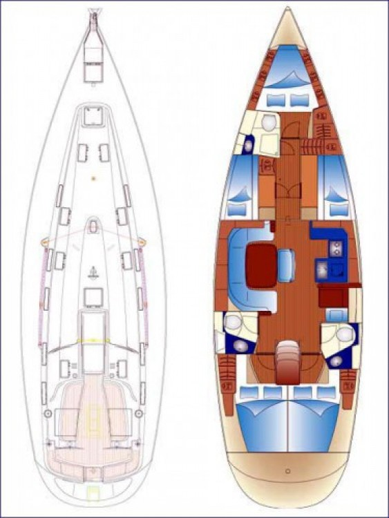 Hire Sailboat with or without skipper Bavaria Piombino