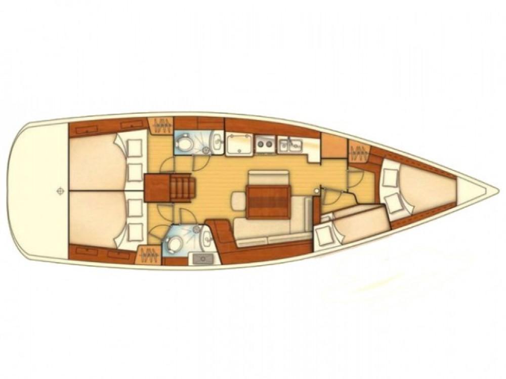 Boat rental Bénéteau Oceanis 43 in Marmaris on Samboat