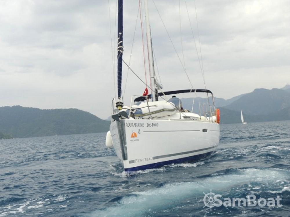 Bénéteau Oceanis 34 between personal and professional Marmaris