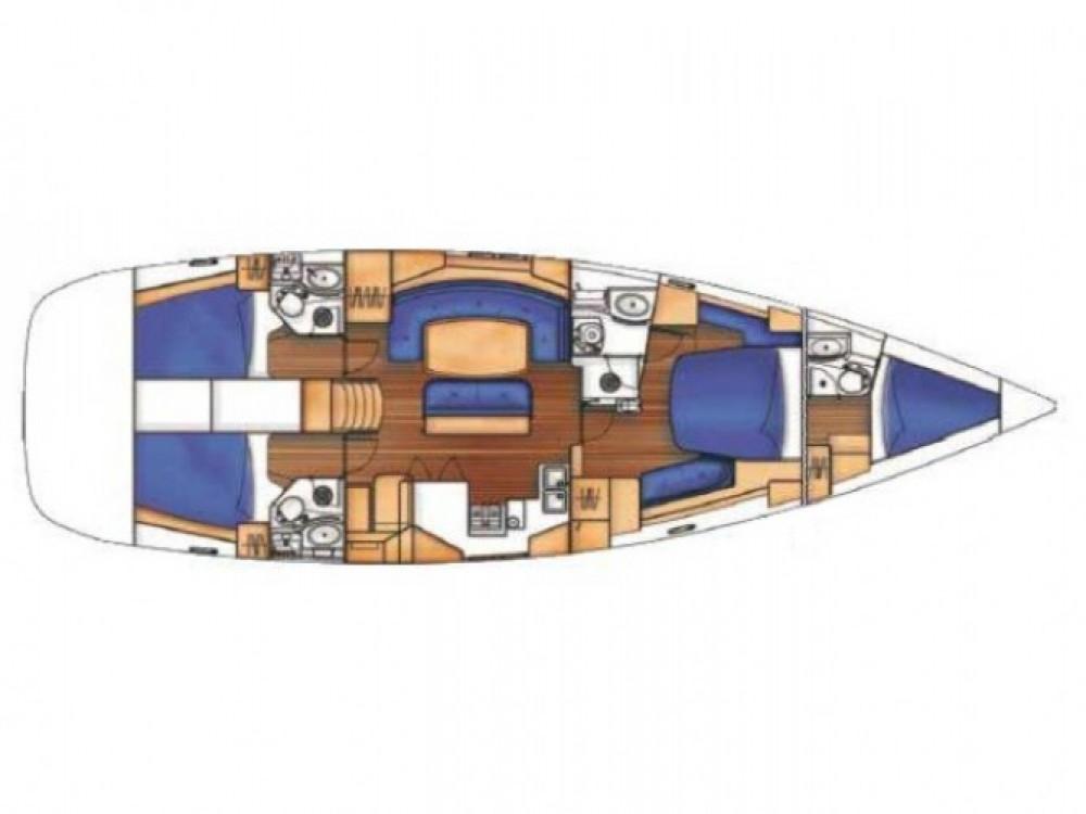 Bénéteau Oceanis 523 between personal and professional Marmaris