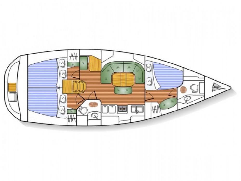 Rental yacht Marmaris - Bénéteau Oceanis 393 on SamBoat