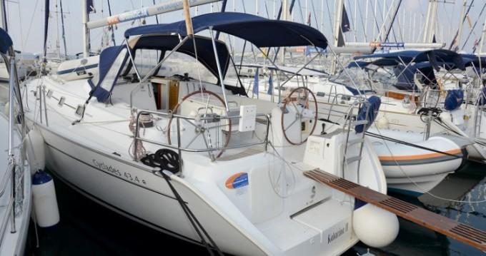 Rental yacht Biograd na Moru - Bénéteau Cyclades 43.4 on SamBoat