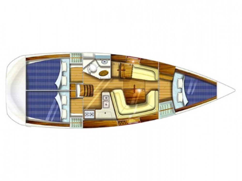 Boat rental Jeanneau Sun Odyssey 35 in Kaštel Gomilica on Samboat