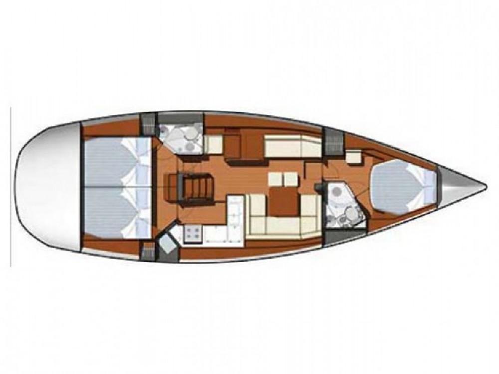 Rental Sailboat in Kaštel Gomilica - Jeanneau Sun Odyssey 45 DS