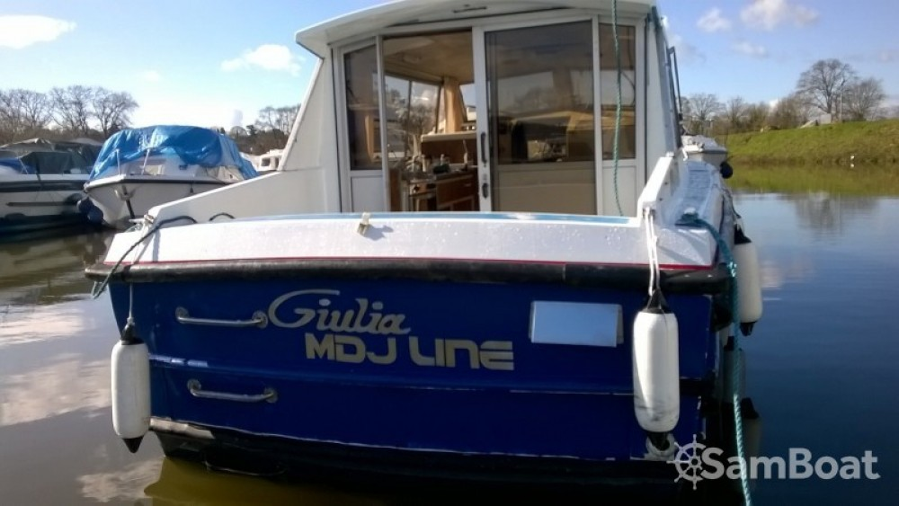 Rental Canal boat in Guipry-Messac - Bounty-Boats Buccaneer 27 S