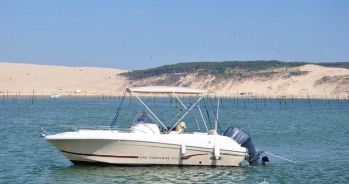 Boat rental Arcachon cheap Cap Camarat 635