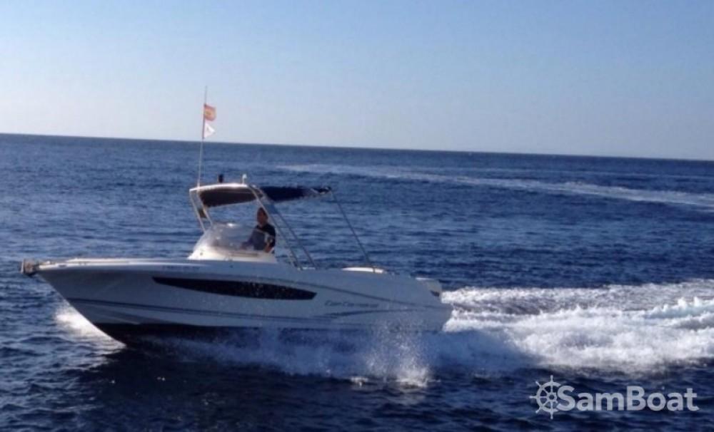 Boat rental Ciutadella cheap Cap Camarat 715