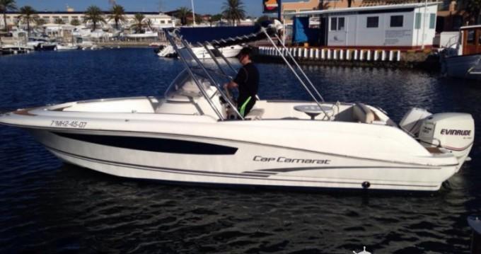 Boat rental Ciutadella de Menorca cheap Cap Camarat 715