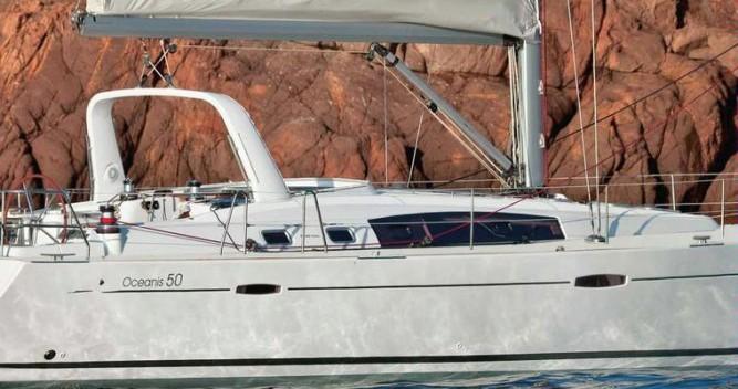 Boat rental Sant Antoni de Portmany cheap Oceanis 50 Family