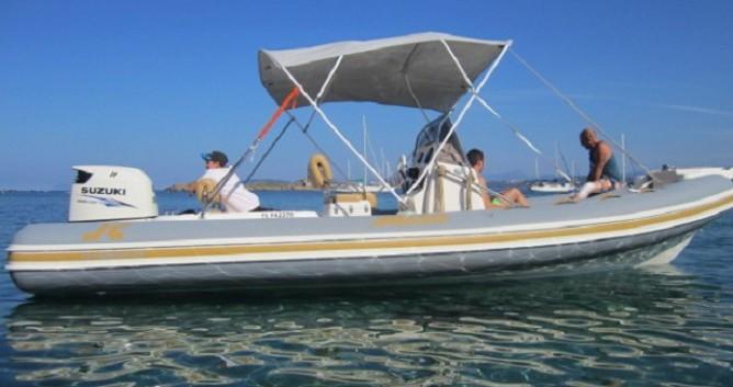 Boat rental Hyères cheap Clubman 23