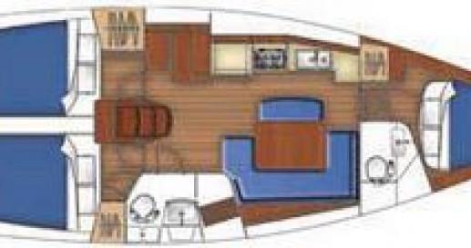 Sailboat for rent La Grande-Motte at the best price