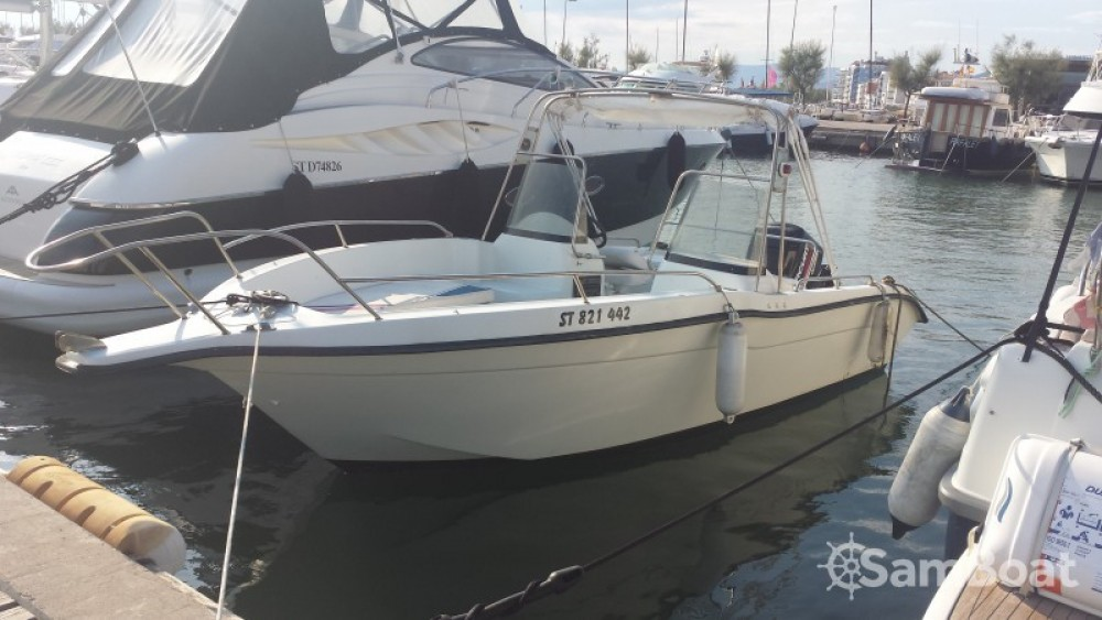 Boat rental Roses cheap Ultramar 660 Open