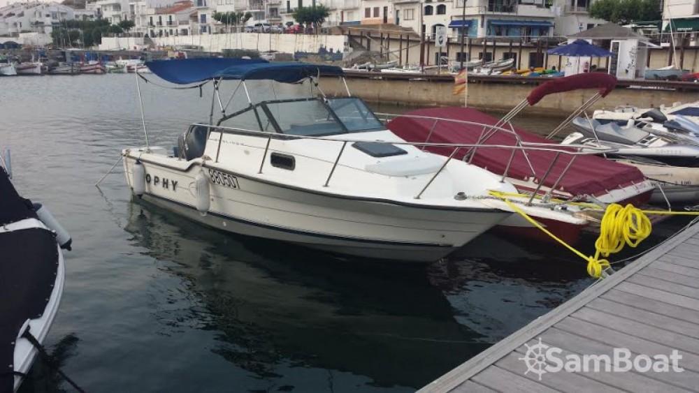 Rental Motorboat in Roses - Bayliner Trophy 2302 WA