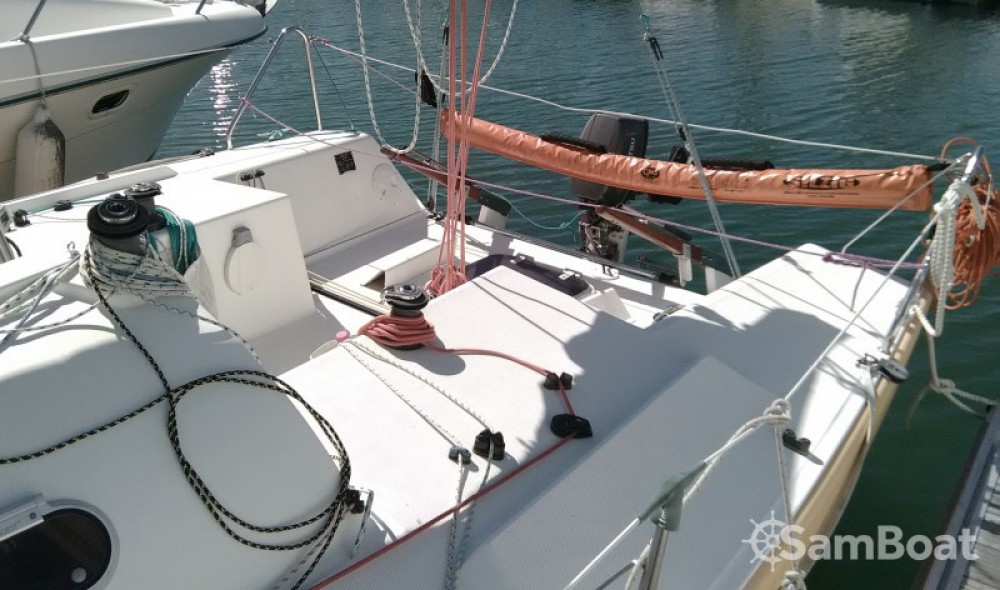 Rental Sailboat Gl-Composite with a permit