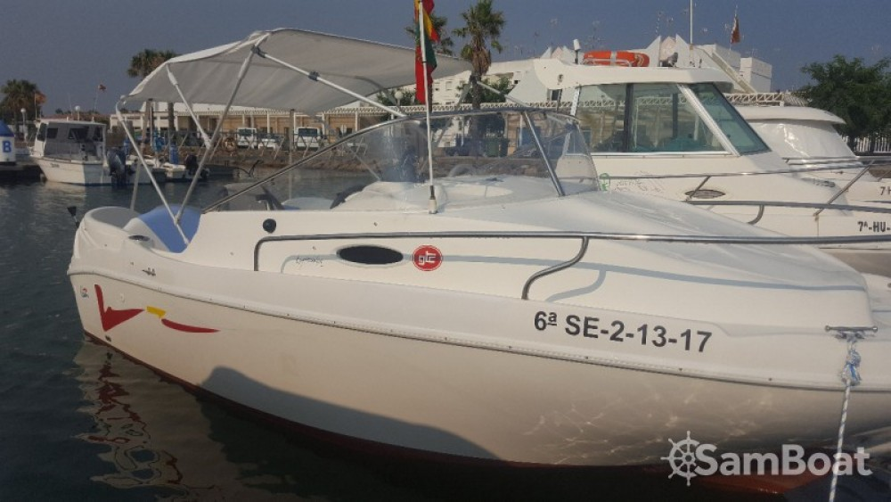 Rental Motorboat Lema with a permit