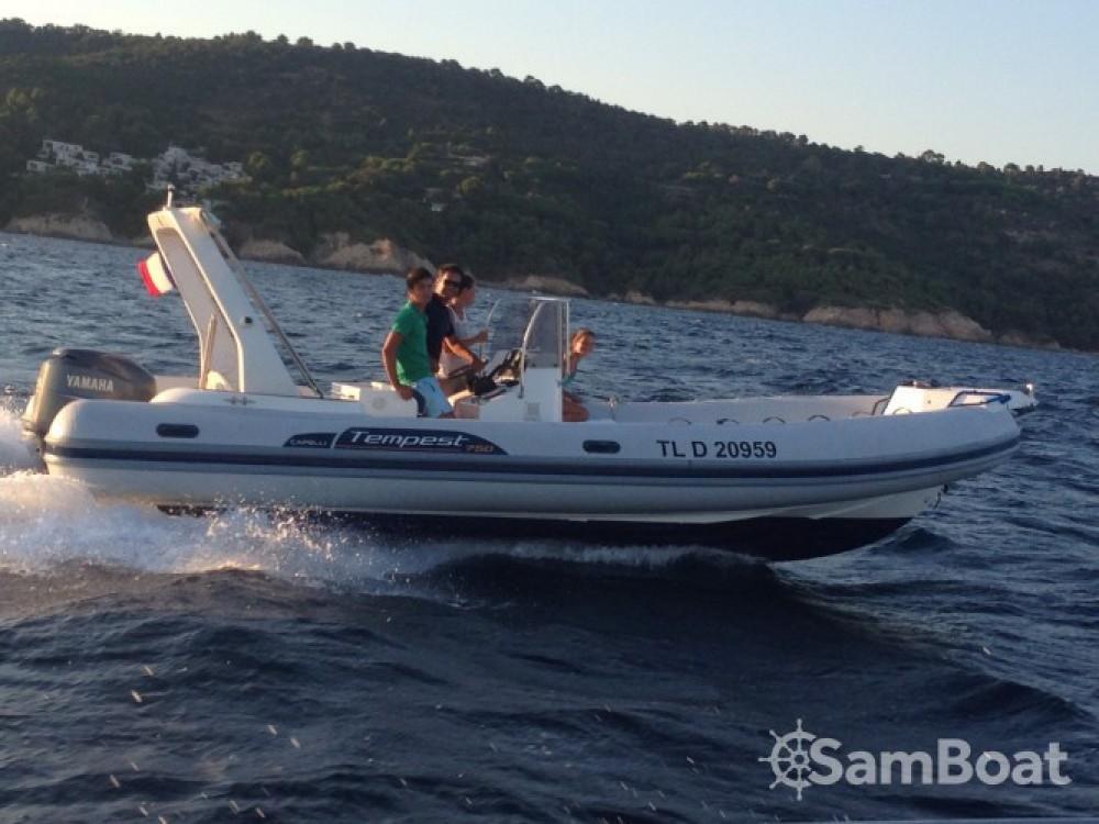 Boat rental Saint-Raphaël cheap Tempest 750