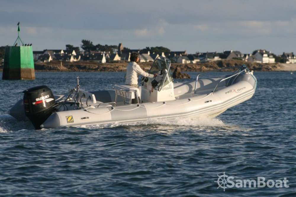 Boat rental Port-Louis cheap Pro Open