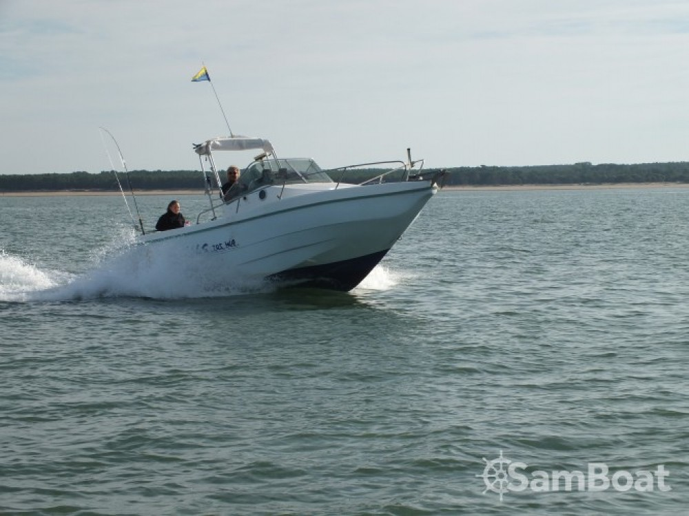 Hire Motorboat with or without skipper Lms 7.05 Les Mathes