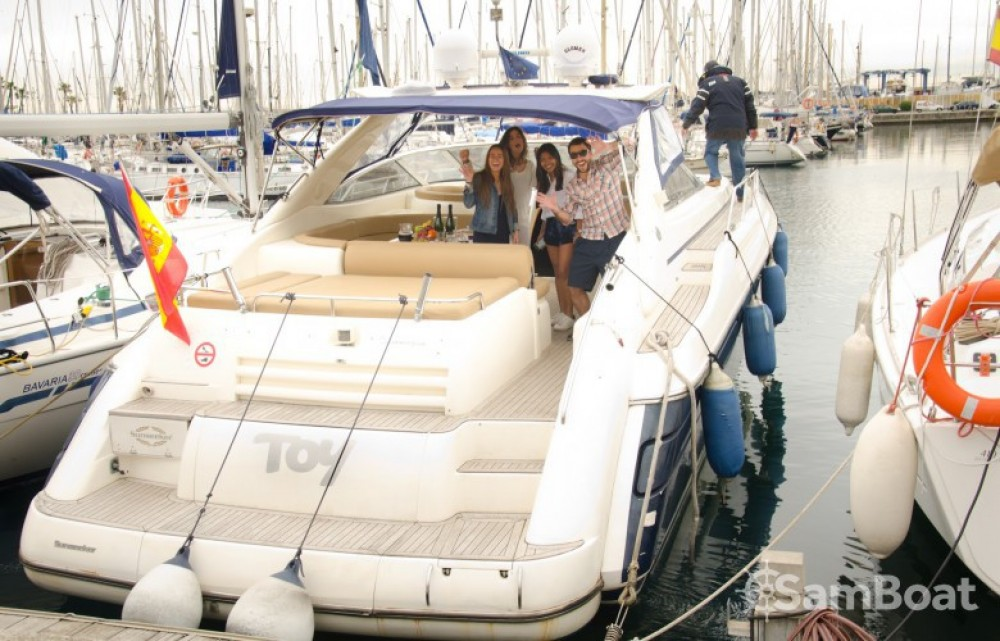 Rent a Sunseeker Camargue Barcelona