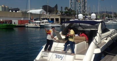 Boat rental Sunseeker Camargue in Barcelona on Samboat