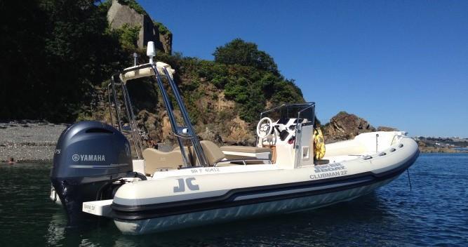Rental RIB in Brest - Joker Boat Clubman 22