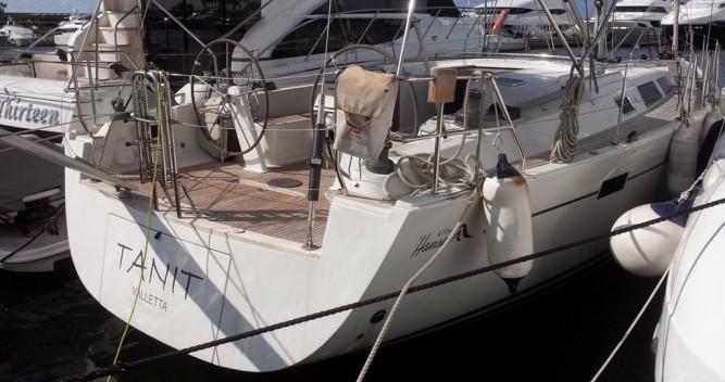 Boat rental Nicosia cheap Hanse 470 E
