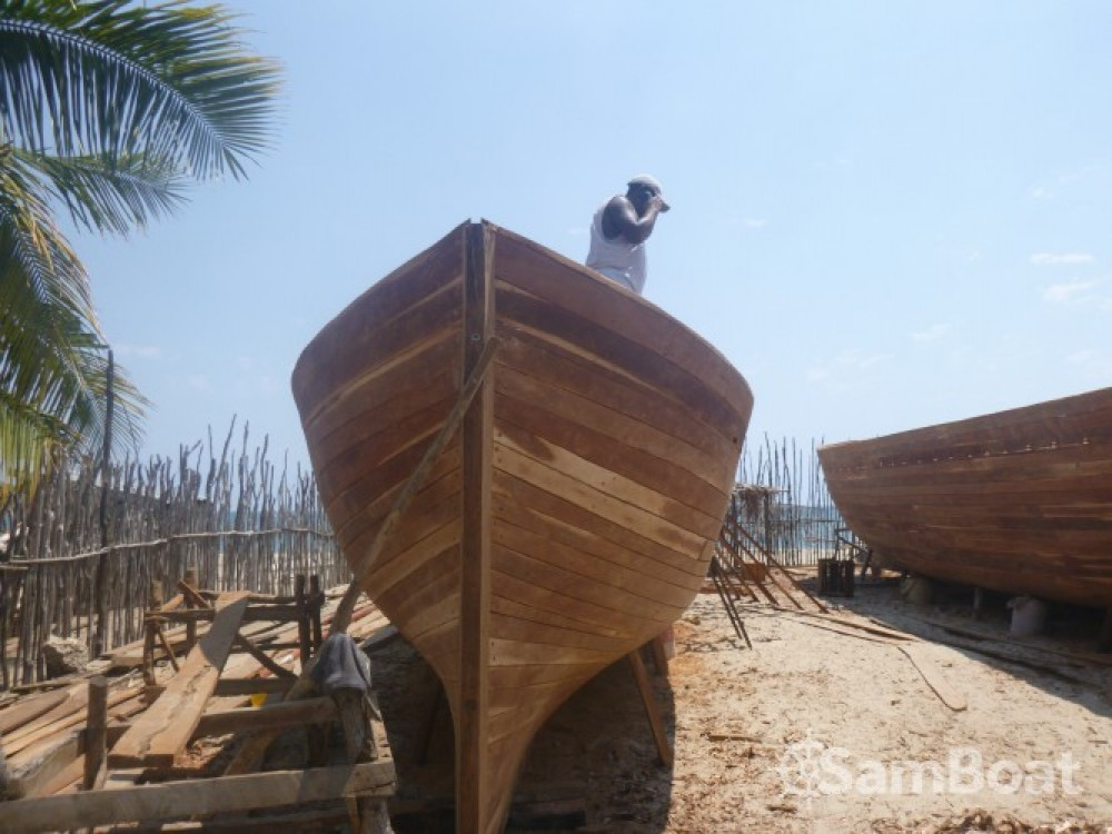 Hire Sailboat with or without skipper Fondy-Charpentier-De-Marine Morondava