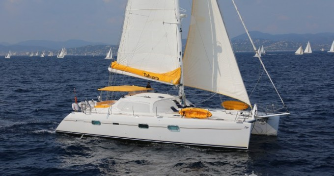 Rental Catamaran Privilege-Marine with a permit