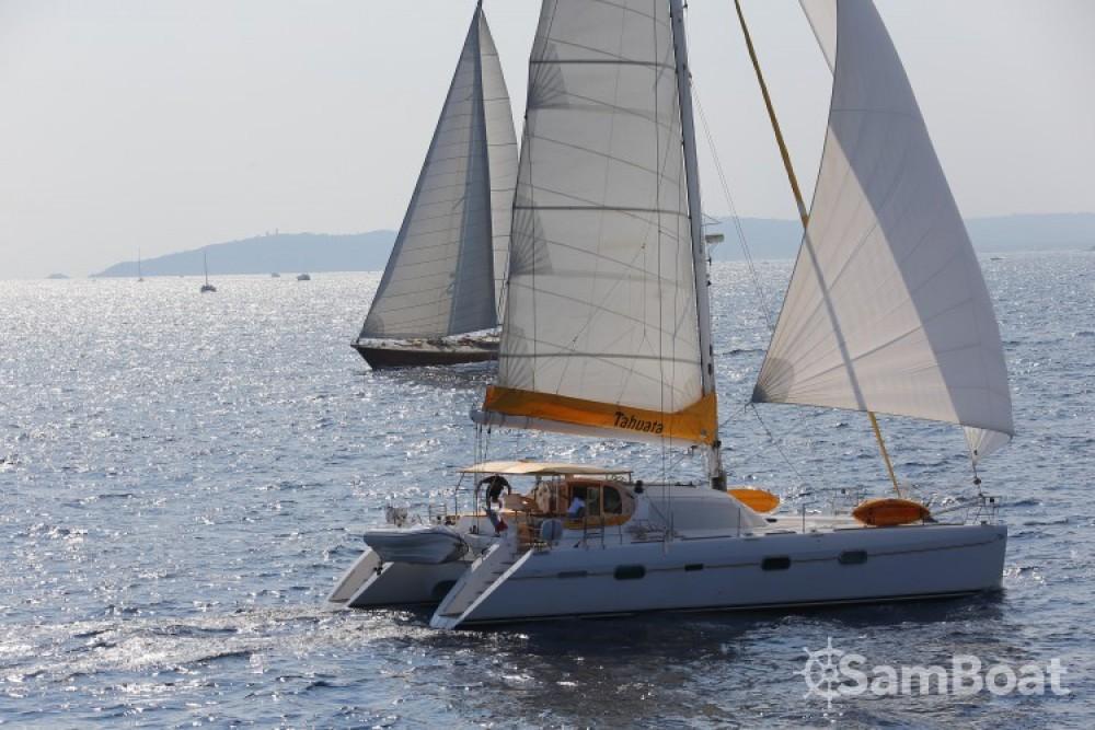 Rental Catamaran in Ajaccio - Privilege-Marine PRIVILEGE 585