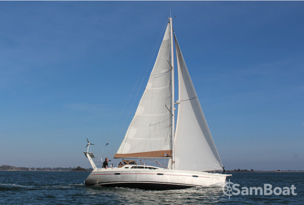 Rental Sailboat Allures with a permit