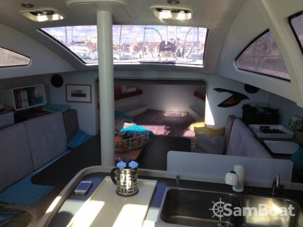 Rental Sailboat in Athens - Fora Marine RM 10.60 biquille