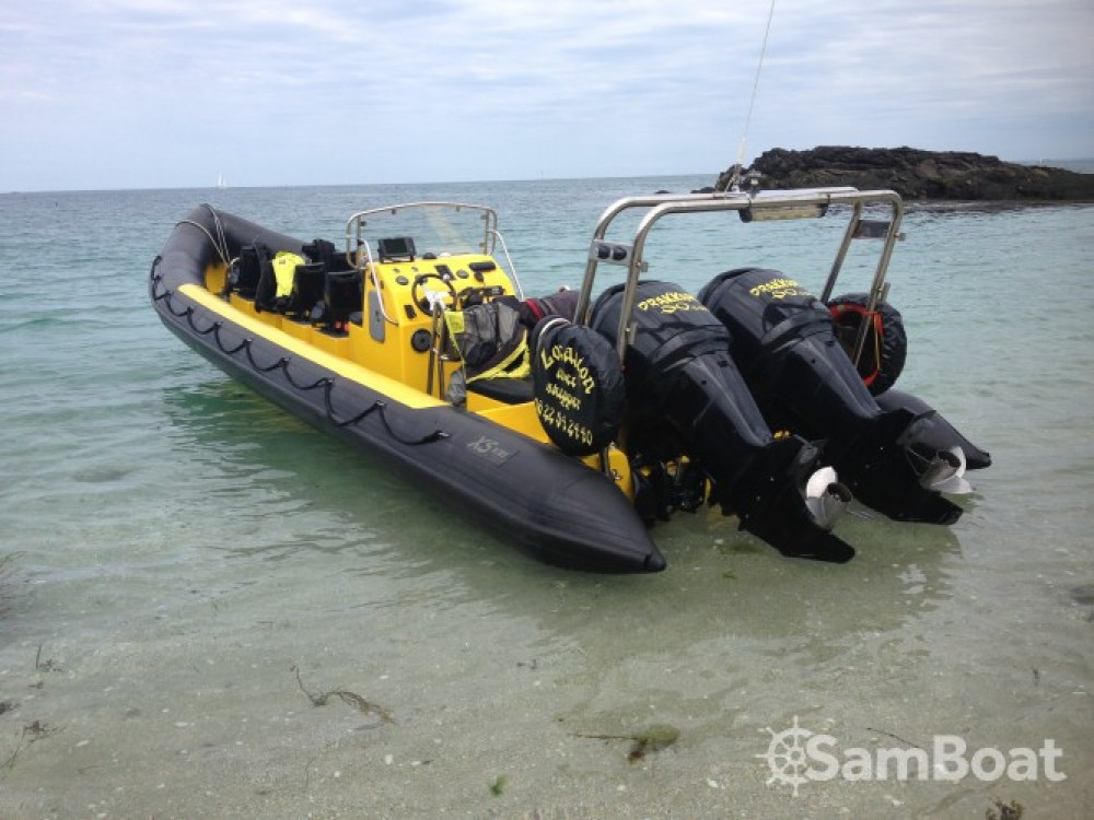 Rental yacht Granville - Xs-Ribs semi rigide on SamBoat