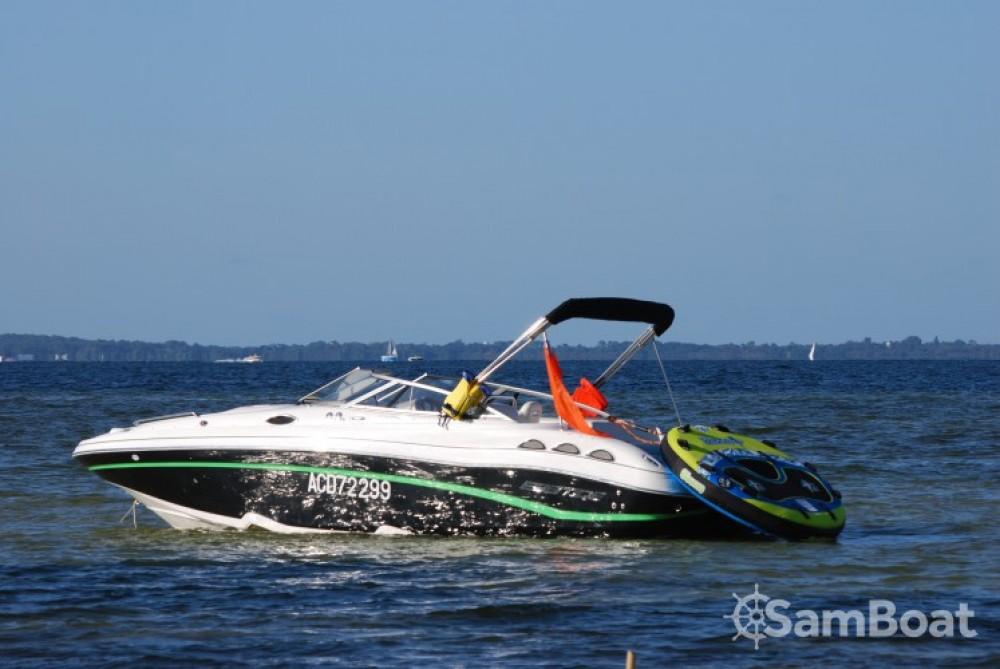 Rental Motorboat in Biscarrosse - Ebbtide 2460 ZTRACK FUN CRUISER DC