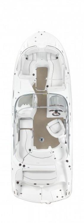 Boat rental Biscarrosse cheap 2460 ZTRACK FUN CRUISER DC