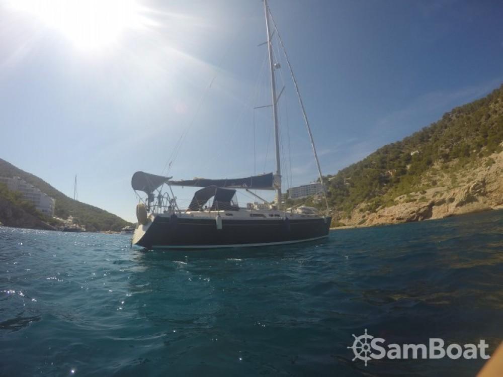 Boat rental Balearic Islands cheap Hanse 411